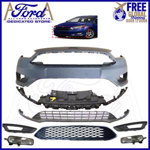Ford Focus MK3.5 2014-2018 Front Bumper Kit Complete New F1EB-17757 F1EB-8200