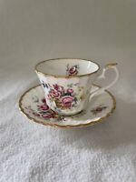 Royal Kendal Cup And Saucer Floral Rose Vintage