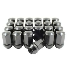 "24pc GM Factory Style Lug Nut M14x1.5 Kit (Black) 1.77"" Long, 7/8"" Hex"