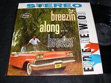 STEREO Banner EDDIE HEYWOOD Jazz Piano LP BREEZIN' Along MERCURY Monterey 1959?