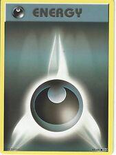 POKEMON XY EVOLUTIONS CARD - DARKNESS ENERGY 97/108