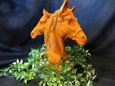 Reiter Pferdekopf Pferdebüste Gusseisen Pferd Pferde, Pferdefreund