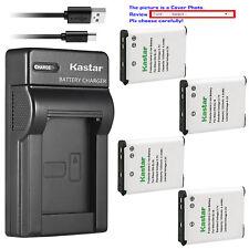 Kastar Battery Slim Charger for Nikon EN-EL19 Nikon Coolpix S3300 Coolpix S3400