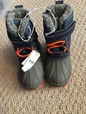 NWT Toddler Boys Winter Boots - Cat & Jack Size 4
