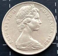 1980 AUSTRALIAN 10 CENT COIN