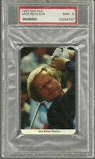 1986-87 Fax-Pax Golf #20 Jack Nicklaus PSA 9 MINT Vintage Rare