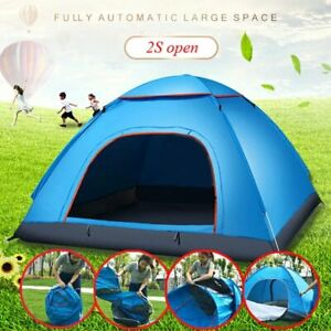 2-3 Person Camping Tent Traveling Hiking Portable Outdoor Shelter Waterproof