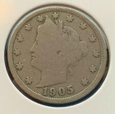 1905 P US Liberty Nickel (C#2946)