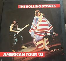 ROLLING STONES AMERICAN TOUR '81- 3 LP VINYL BOX SET LIVE Tmoq Takrl Beatles