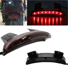 Smoke Rear Stop LED Tail Light Brake For Motorcycle Bobber Chopper Cafe Racer UK