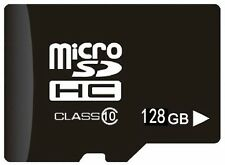 5X 128 GB Tarjeta SD Clase 10 con Adaptador para Android, HTC, Samsung, Gopro, SLR
