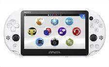 SONY PlayStation Vita Wi-Fi Model Glacier White PCH-2000ZA22 PS Vita Japan NEW