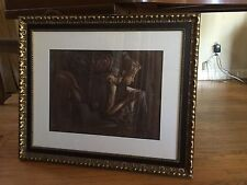Framed Painting by Painter Illustrator Phil George
