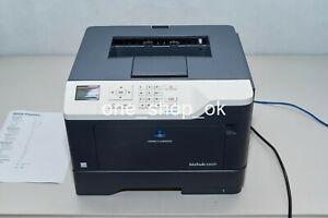 Konica Minolta Bizhub 4402P Office Mono Printer 44ppm Low Pages Count 1300 Pages