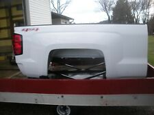 new take off chevy 6.5 white truck bed. rhino lined.