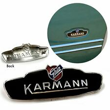 VW KARMANN GHIA-BAT EAR STYLE SIDE BADGE, NEW, 1956 -1959, ALL GHIAS, LOWLIGHT