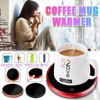 Office Household Electric Heating Cup Mat Tea Coffee Mug Cup Warmer Cup 15W  !*