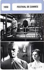 FICHE CINEMA :  FESTIVAL DE CANNES 1958 (mod A) - Frères Karamazov,Brynner