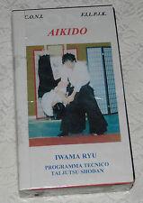 AIKIDO IWAMA RYU Tai Jutsu di Paolo Corallini F.I.L.P.J.K. / C.O.N.I.(VHS)