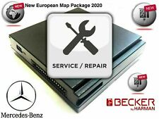 REPAIR SERVICE Becker Map Pilot Mercedes Benz GPS Navigation Module