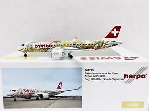Herpa Wings Swiss International Air Lines Airbus A220-300 1:400 HB-JCA 562713