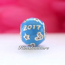 Authentic Pandora Disney Parks Mickey Mouse ''2017 Edition''Charm7501055891086P