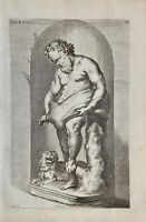 Silenos Silenus Joachim Sandrart Greece Mythologie Wein Trunkenheit Alcohol 1676
