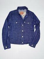 Levi Strauss Denim Trucker Jacket Women's Small Cotton Blue Jean