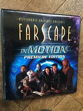FARSCAPE IN MOTION TRADING CARD BINDER & 60 Card Base Set , Rittenhouse Archives