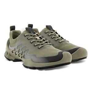 ECCO Men's Biom AEX Trainer Shoes Vetiver/Buffed Silver Sz. EU 44 (US 10 - 10.5)
