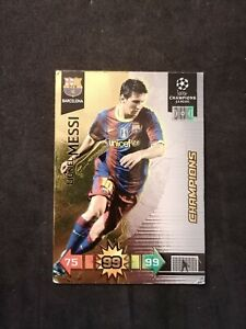 Adrenalyn 2010 Champions Lionel Messi