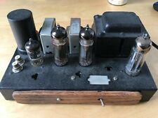 New listing Great restored Magnavox single ended tube Se stereo tube amp amplifier