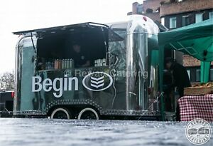 Airstream Mobile Kamion za Hranu Suitable for Burger Coffee Gin Prosecco & Pizza