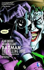 Batman Killing Joke Deluxe Hardcover GN Alan Moore Brian Bolland New HC NM