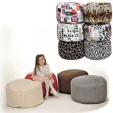 Puff sofá muebles confortable con poliestireno granulado 40x65cm