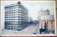 1915 Seattle, WA Postcard: Standard Furniture/2nd Avenue/Downtown - Washington