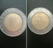 Italia moneta 500 lire del 1997