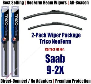 2pk Super-Premium NeoForm Wipers fits 2005-2006 Saab 9-2X 16220/170