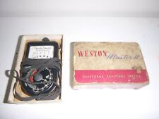 Vintage WESTON Master II 2 Universal Exposure Meter in Original Box with Manual