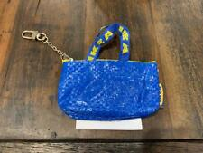 IKEA KNOLIG Extra Small zipper Coin Bag with Key Ring