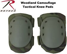 Camouflage Woodland Military Tactical Protective Gear Knee Pads 11058 Rothco