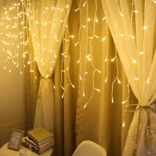 LED Curtain String Light  Fiary Garland Wedding Christmas Party Decoration