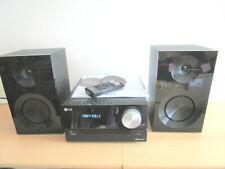LG Kompaktanlage CM2460DAB ( DAB+ FM ) Schwarz mit 2 x Lautsprecherboxen 50W