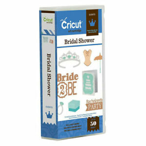 Cricut BRIDAL SHOWER Events Cartridge - 2001291 - For Use with Cricut Machines