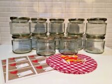 12x Jam Making Jars, Lids, Doilies, Labels, Rubber Bands by Helen's Own Jam Kit