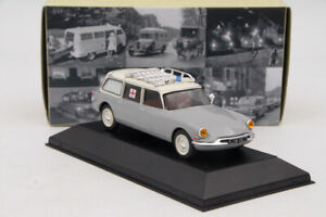 Atlas 1/43 Citroen ID 19 Ambulance Diecast Models Editions Toys Car Collection