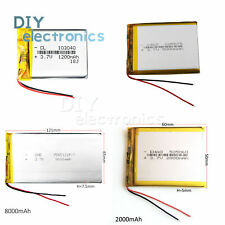 37v 1200 8000mah Polymer Li Po Battery 103040 Power Bank Ipod Tablet Pc Us