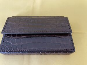 Dunhill Alligator Business Card Case RRP £550