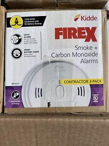Kidde KN-COPE-IC FireX Smoke & Carbon Monoxide Alarm - Contractor 3-PACK - NEW