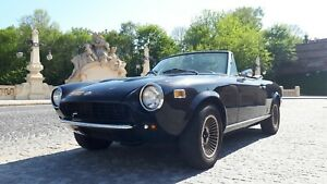 fiat 124 spider(1974-86) bumpers+turn lights, RESTORE ORYGINAL PININFARINA LINE